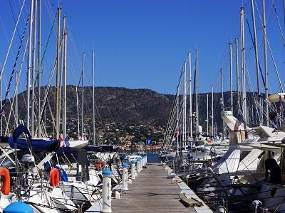 ponton port bateau plaisance bormes